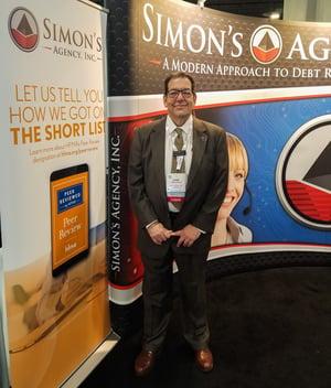 Arne Salkin Representing Simon's Agency at HFMA 2018