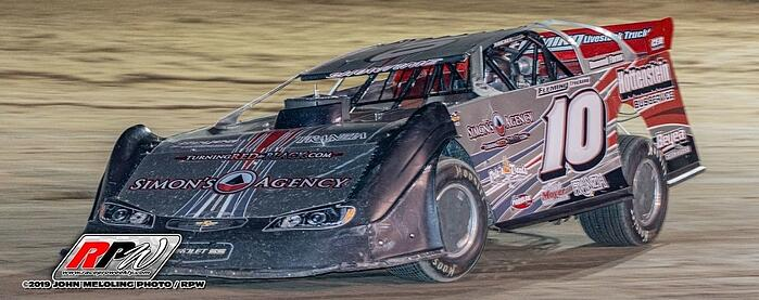 Fleming #10 Car by John Meloling Photo/RPW