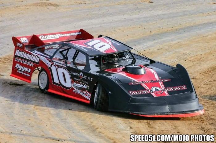 CFR/Simon's #10 Race Car