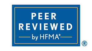 Simon's Agency Peer Reviewed by HFMA